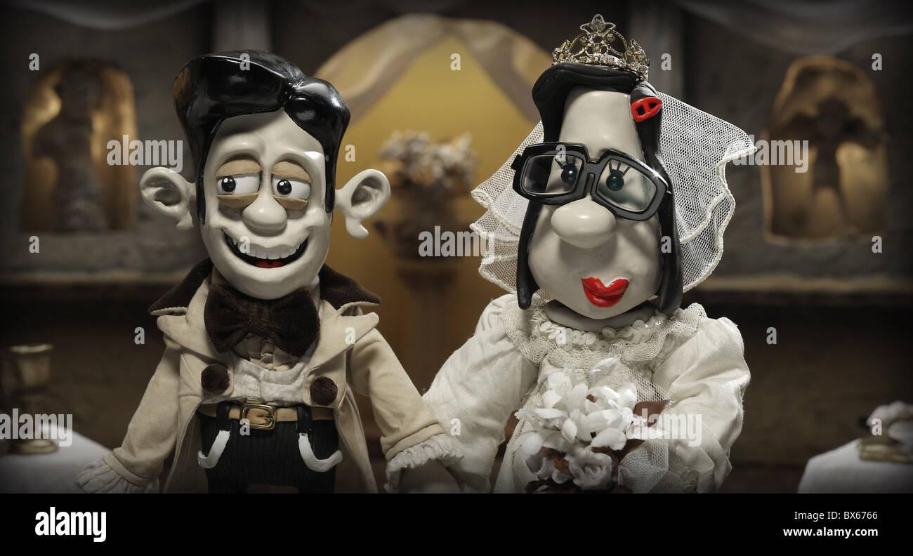 DAMIAN & MARY MARY AND MAX (2009) - Stock Image