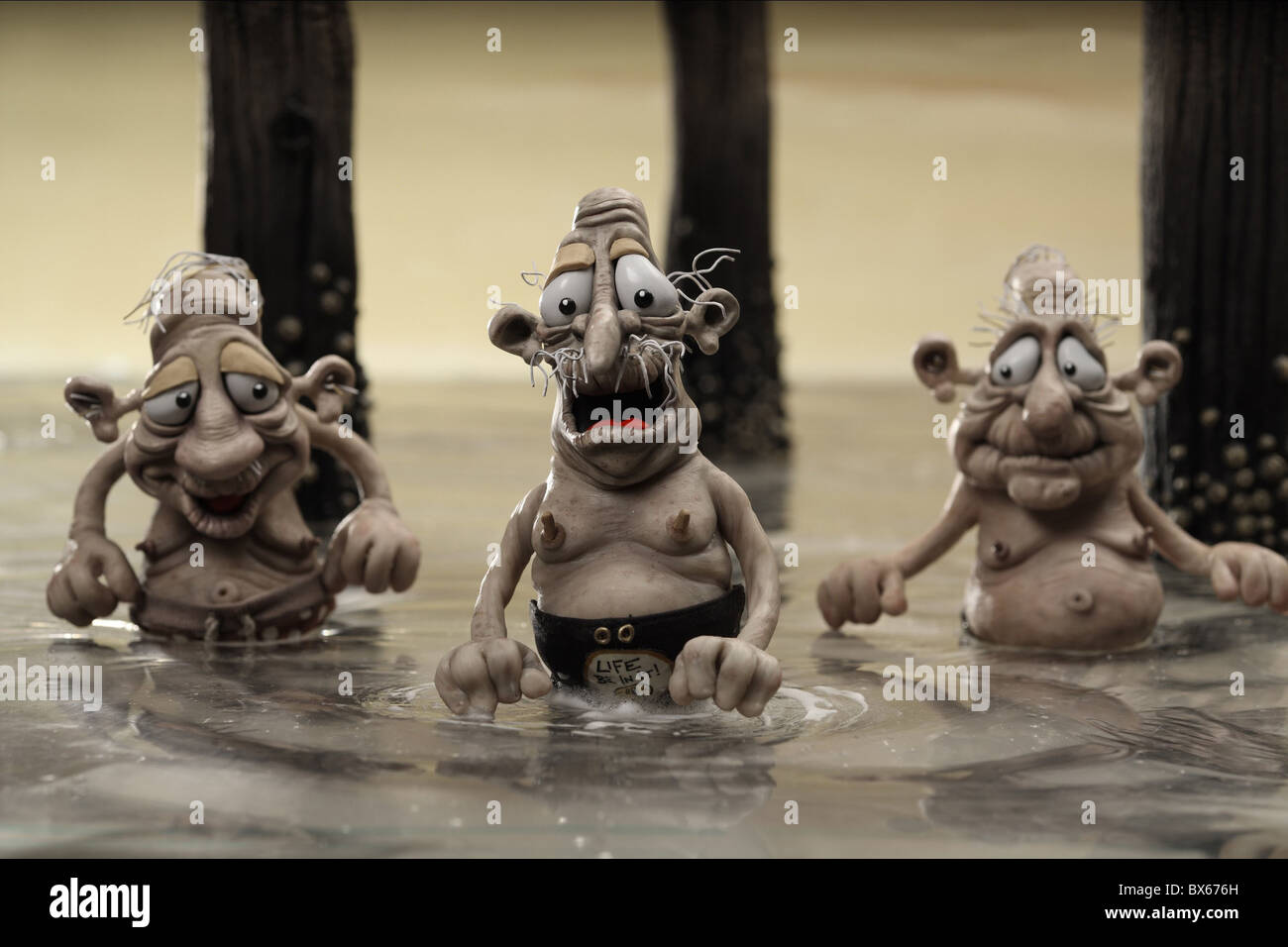 RALPH MARY AND MAX (2009) - Stock Image