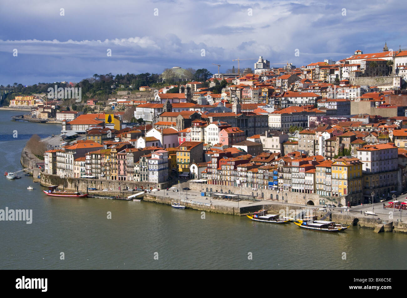 Old town of Oporto, UNESCO World Heritage Site, Portugal, Europe - Stock Image