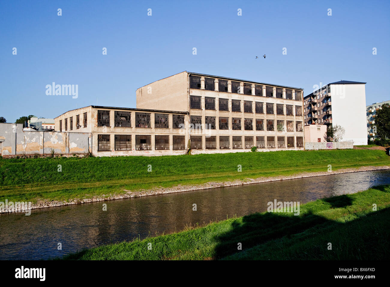 Abandoned building of an old factory Karnola on Zamecky okruh in Opava. (CTK Photo/Josef Horazny) - Stock Image