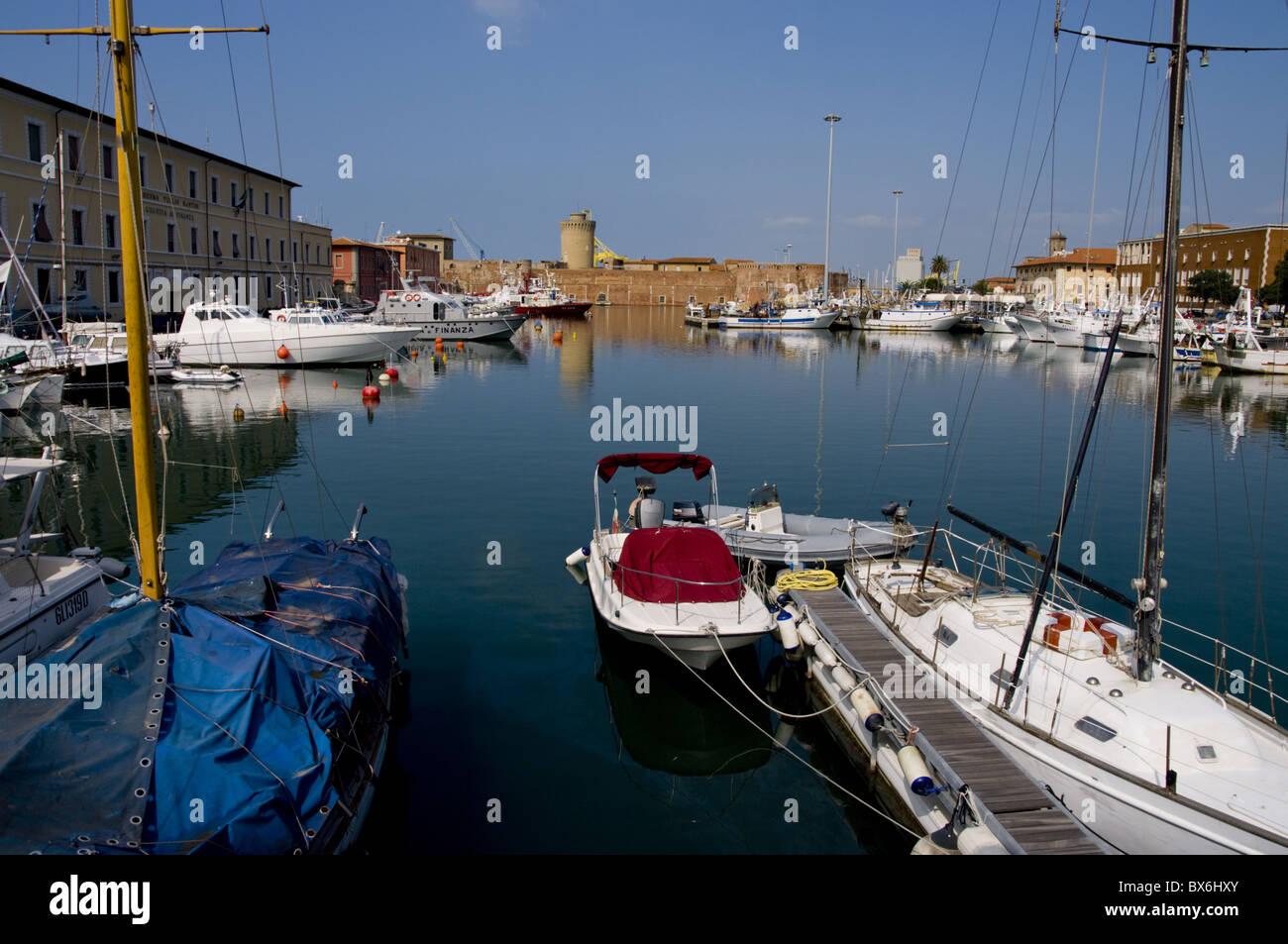 Livorno, Tuscany, Italy, Europe - Stock Image