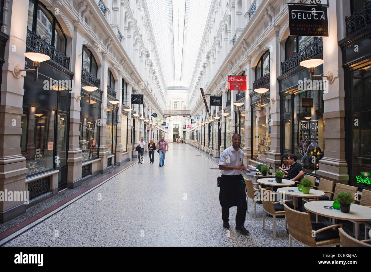The Passage shopping arcade, Den Haag (The Hague), Netherlands, Europe Stock Photo