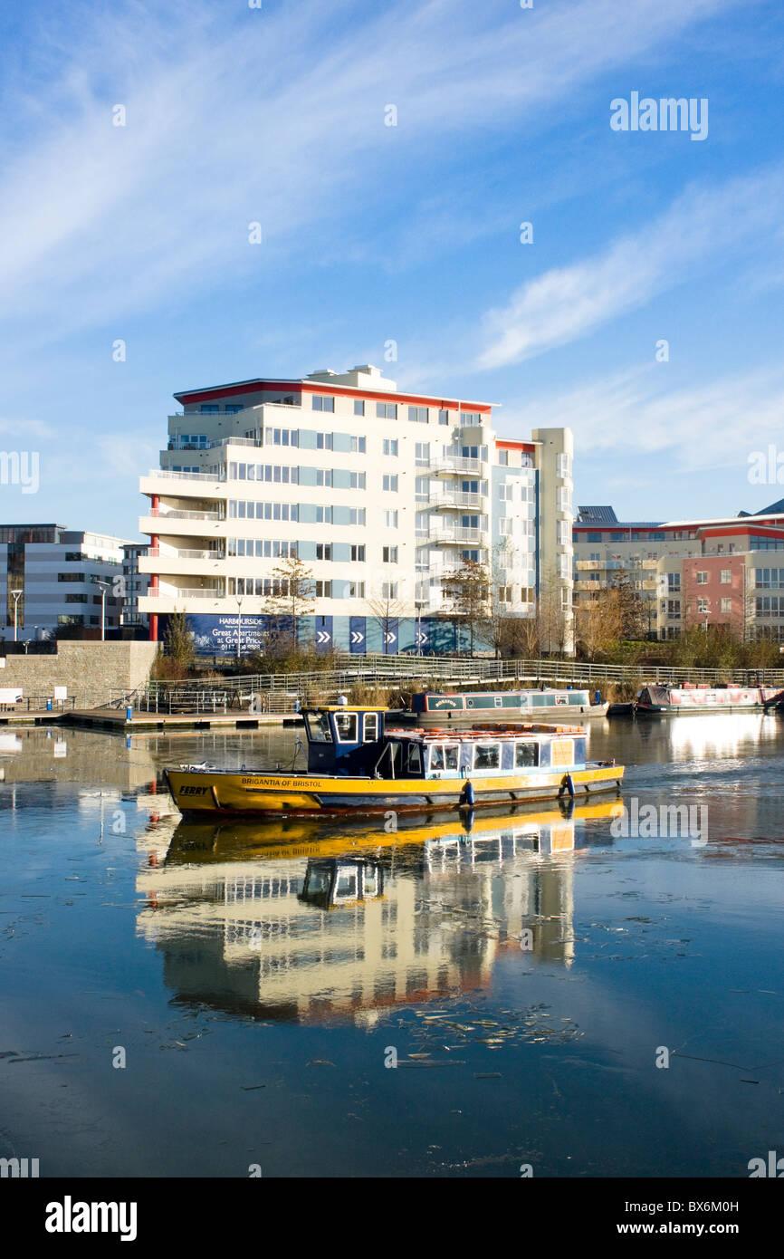 Bristol Harbour Bristol England UK - Stock Image