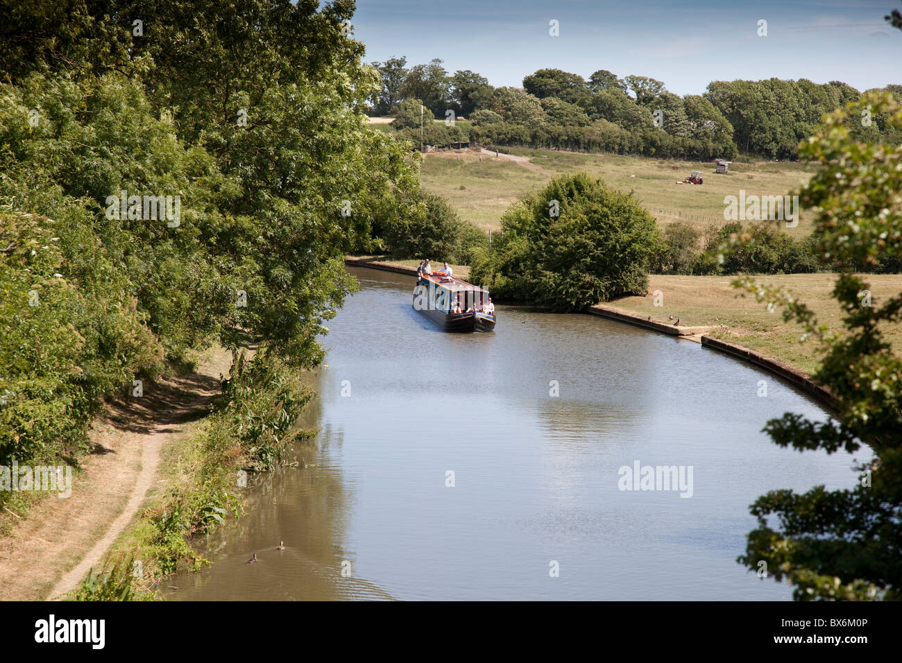 Oxford Canal England - Stock Image