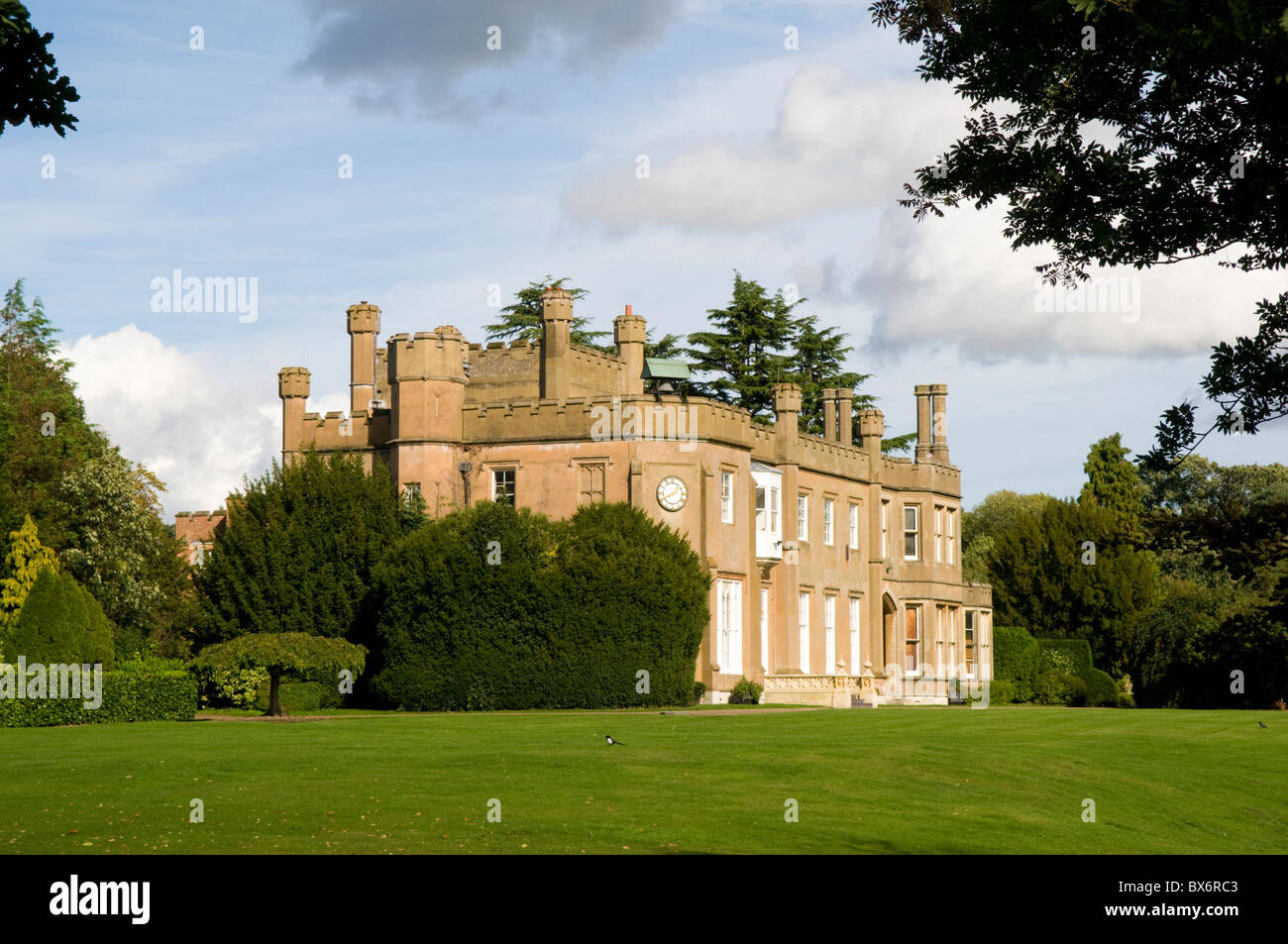 Nonsuch Mansion in Cheam, Surrey, England - Stock Image