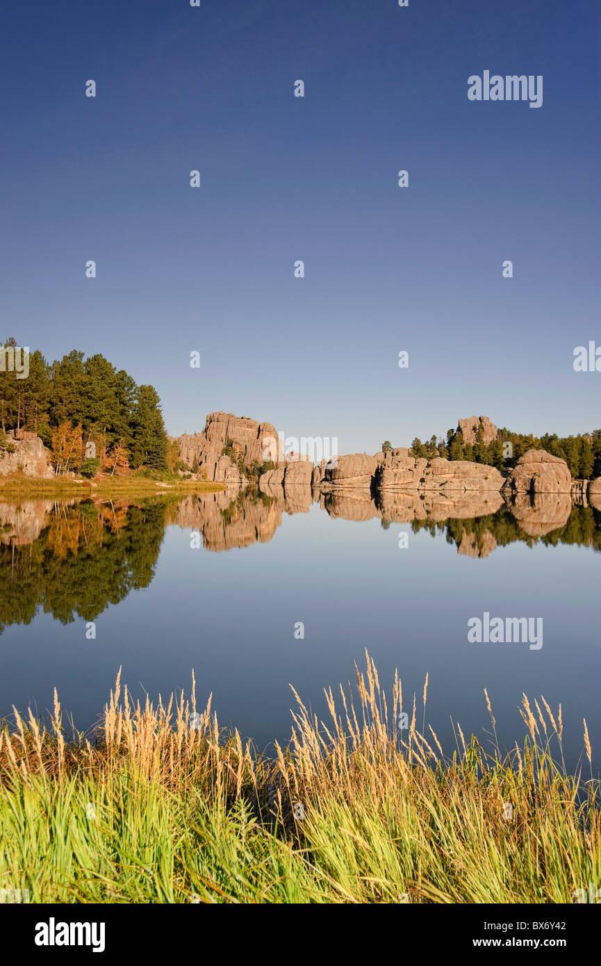 Sylvan Lake, Black Hills National Forest, Custer State Park, South Dakota Stock Photo