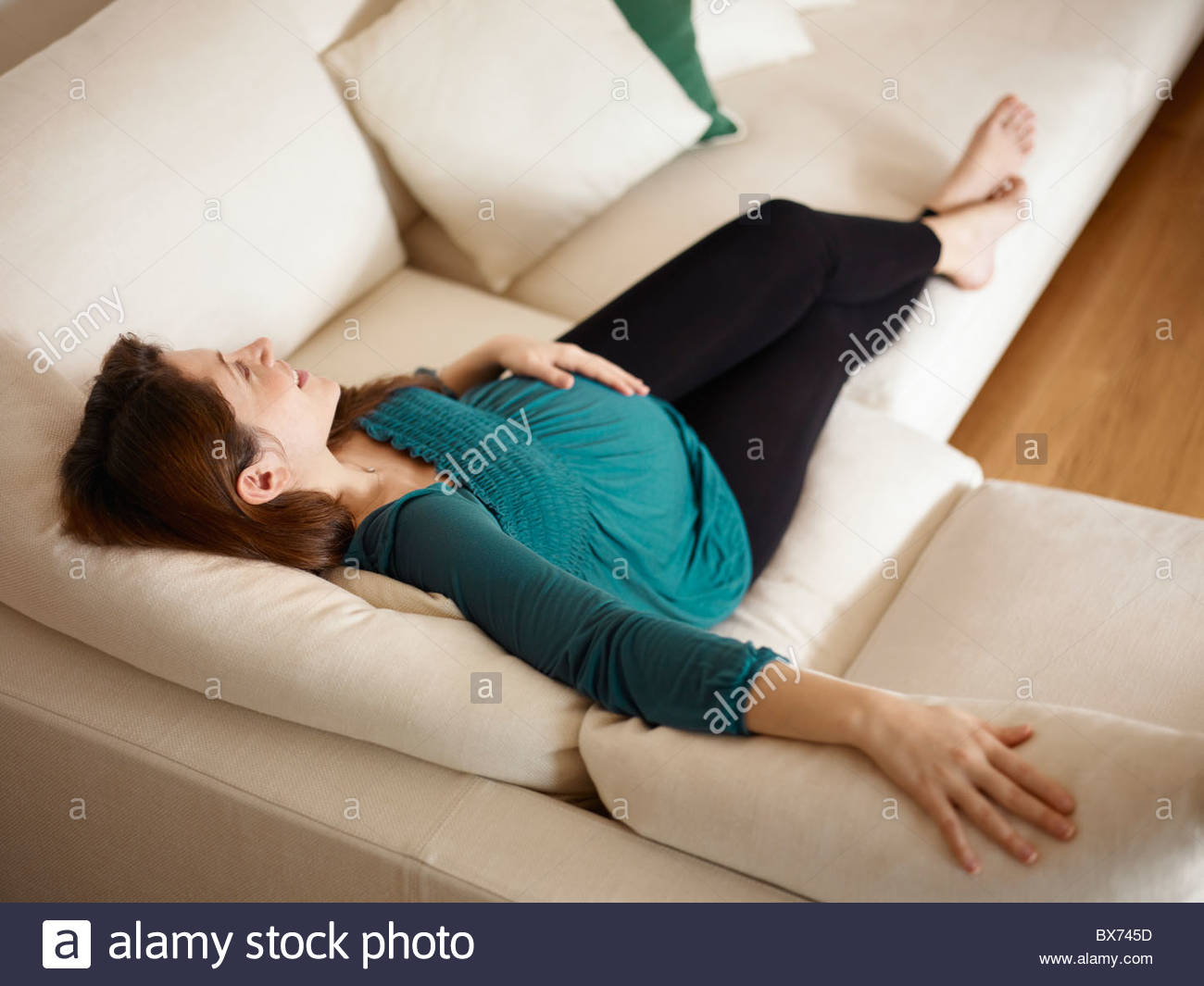 Pregnant woman - Stock Image