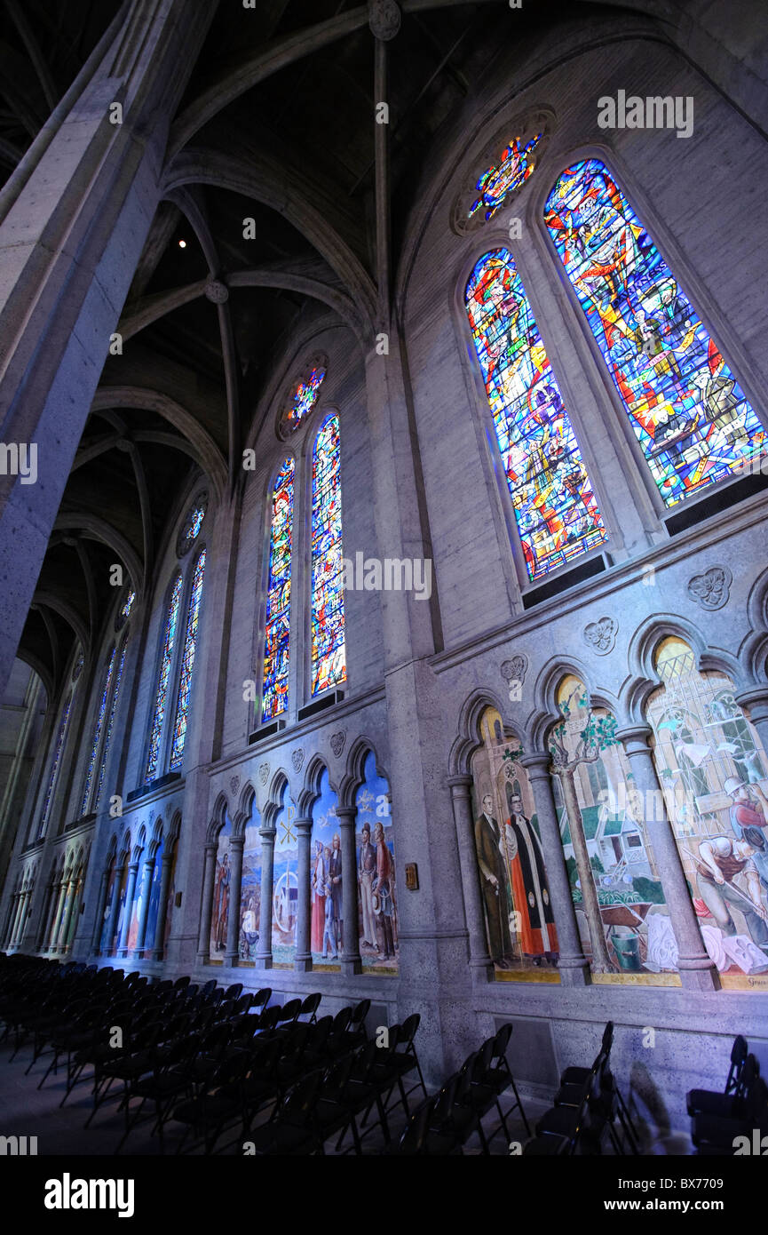Usa, California, San Francisco, Grace Cathedral - Stock Image