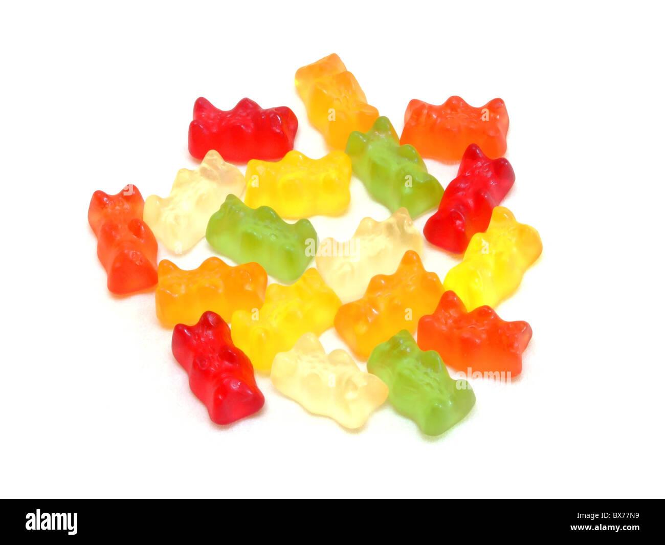 Gummibärchen / Gummy bears - Stock Image