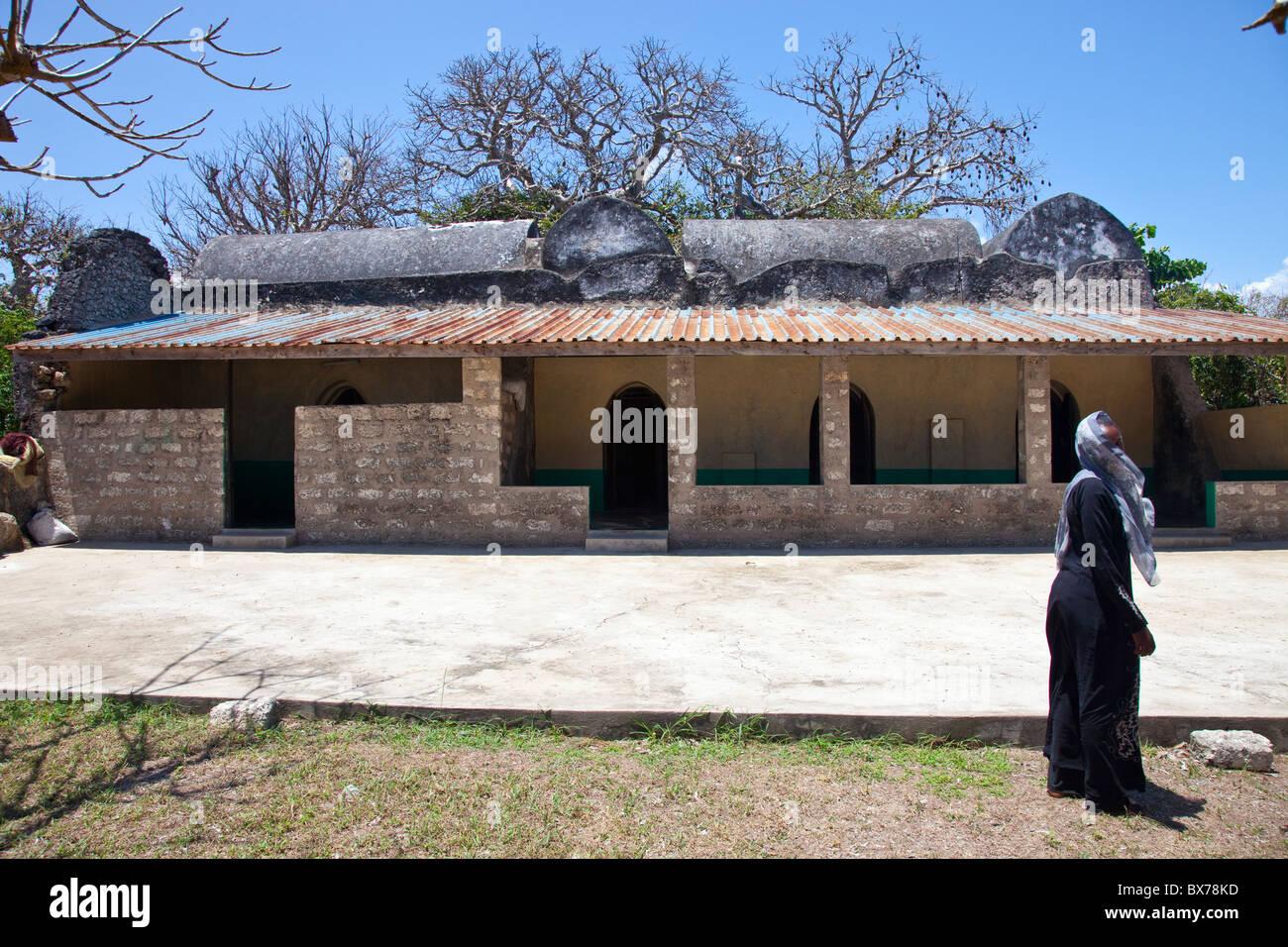 Kongo Mosque, Diani, Kenya - Stock Image
