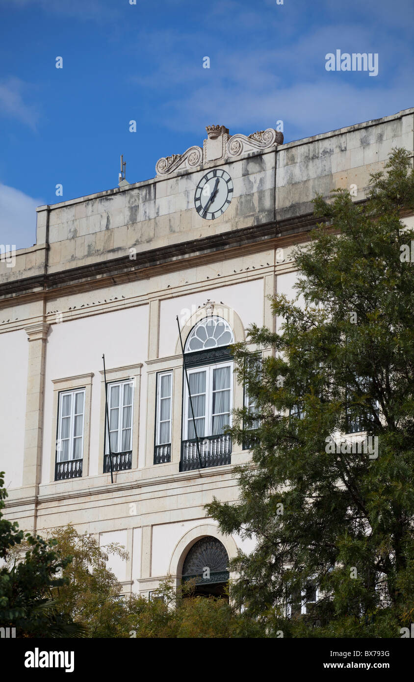 The Town Hall at Silves in the Algarve Portugal Stock Photo