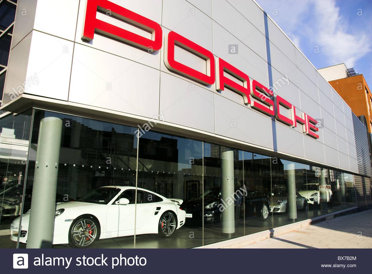 Porsche Car Showroom Stock Photos Amp Porsche Car Showroom