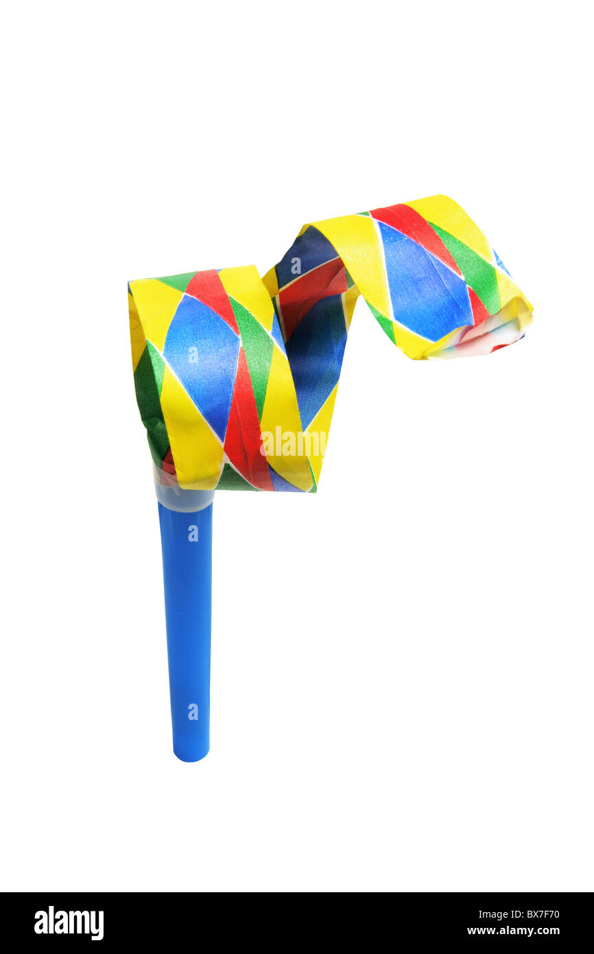 Party Blower - Stock Image