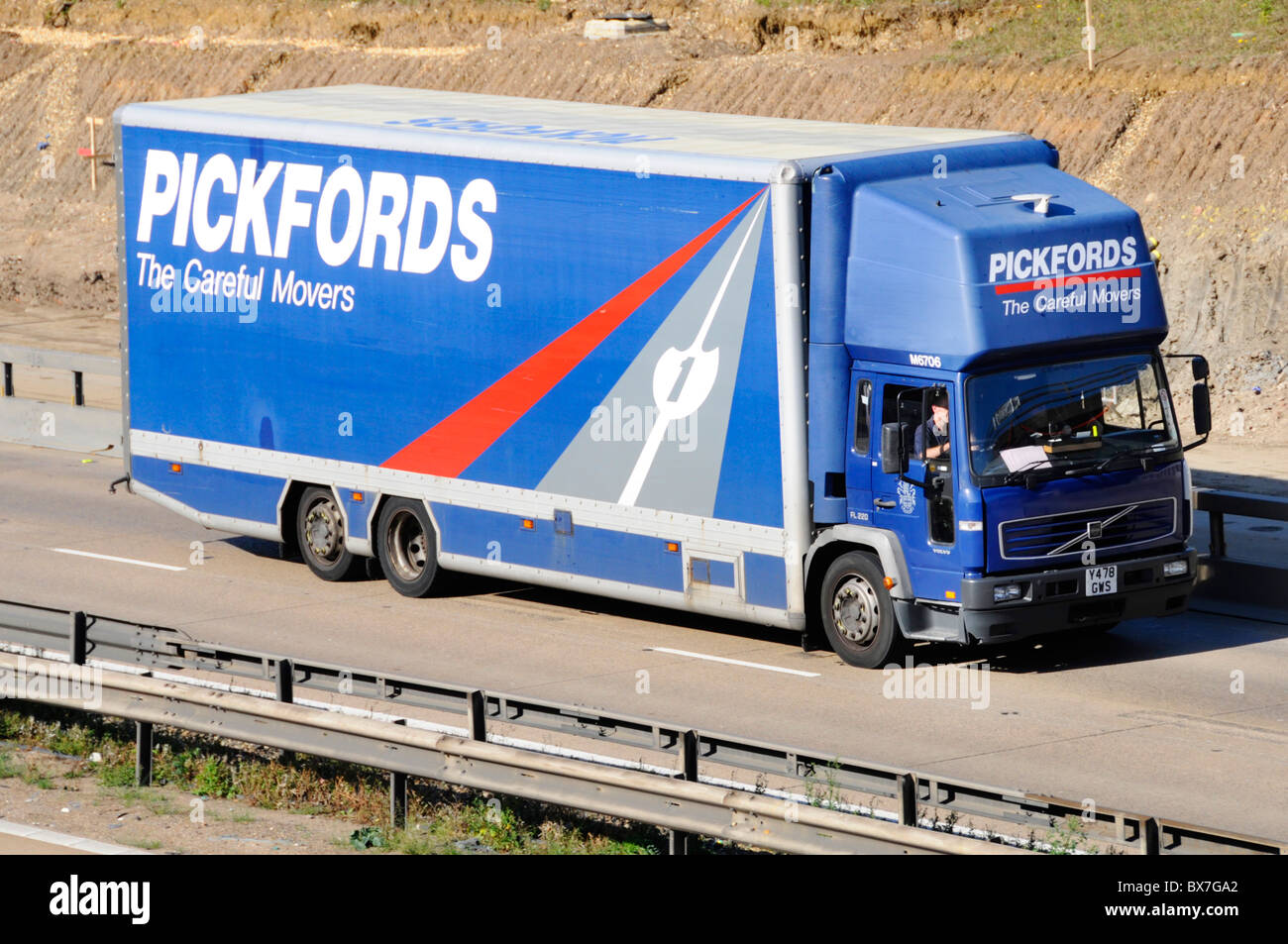 Lovely Pickfords Removal Lorry   Stock Image