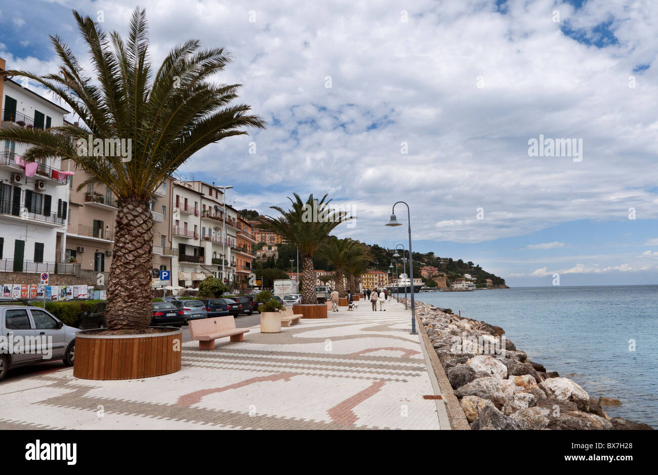 Porto Santo Stefano, Monte Argentario, Tuscany, Italy - Stock Image