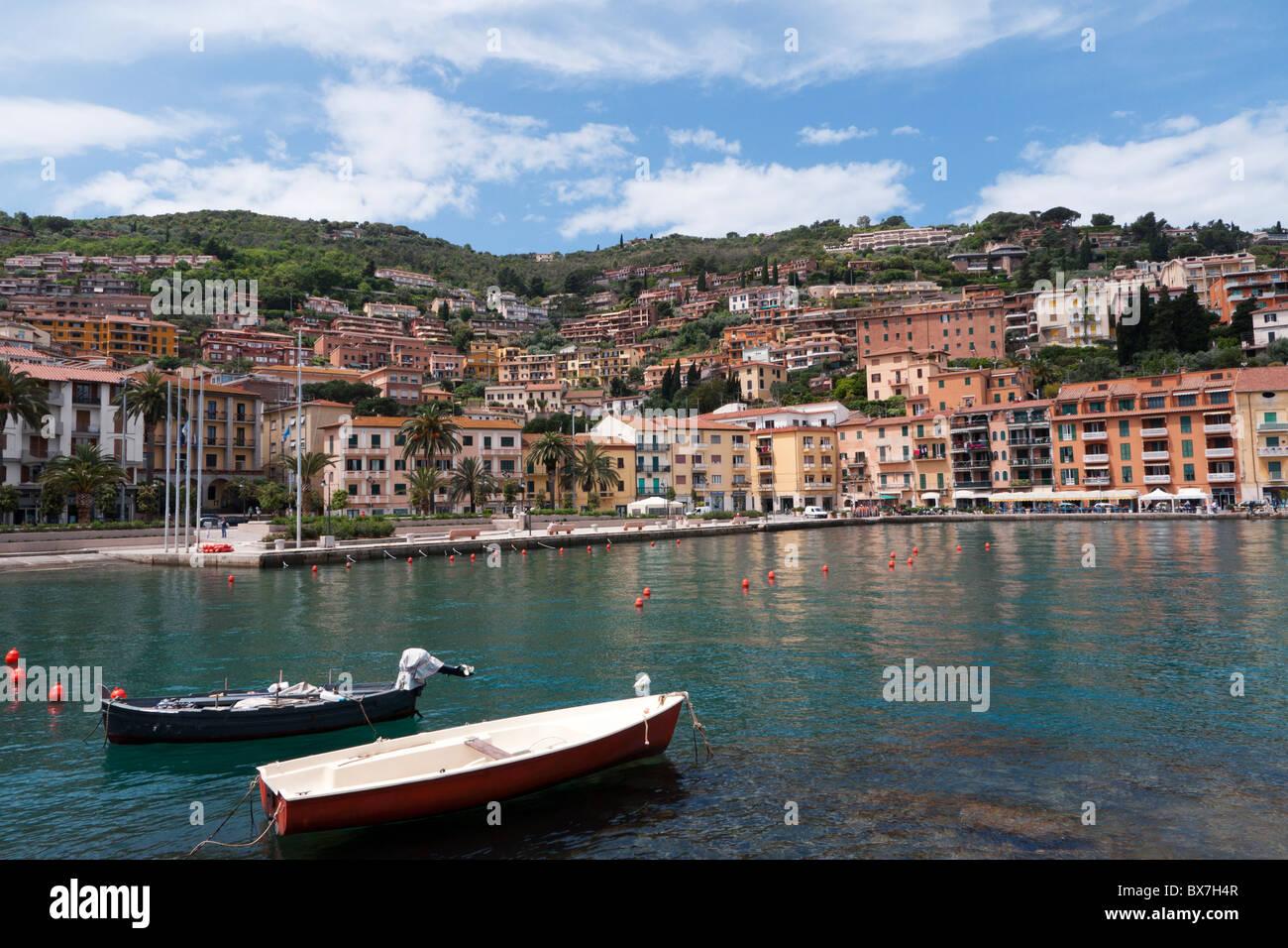 Porto Santo Stefano, Italy - Stock Image