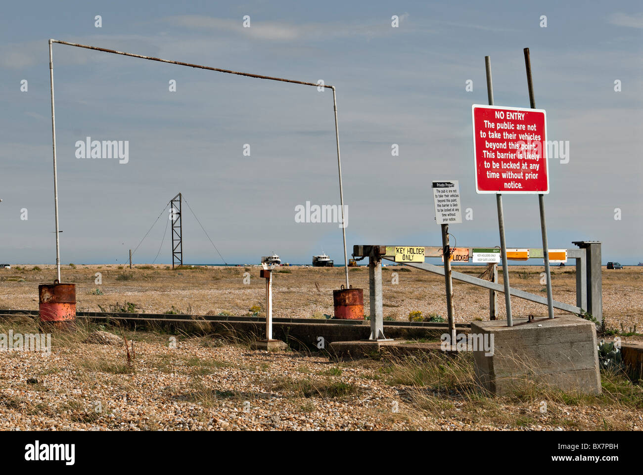 Fishing Industry artifacts, Dungeness Romney Marsh - Stock Image