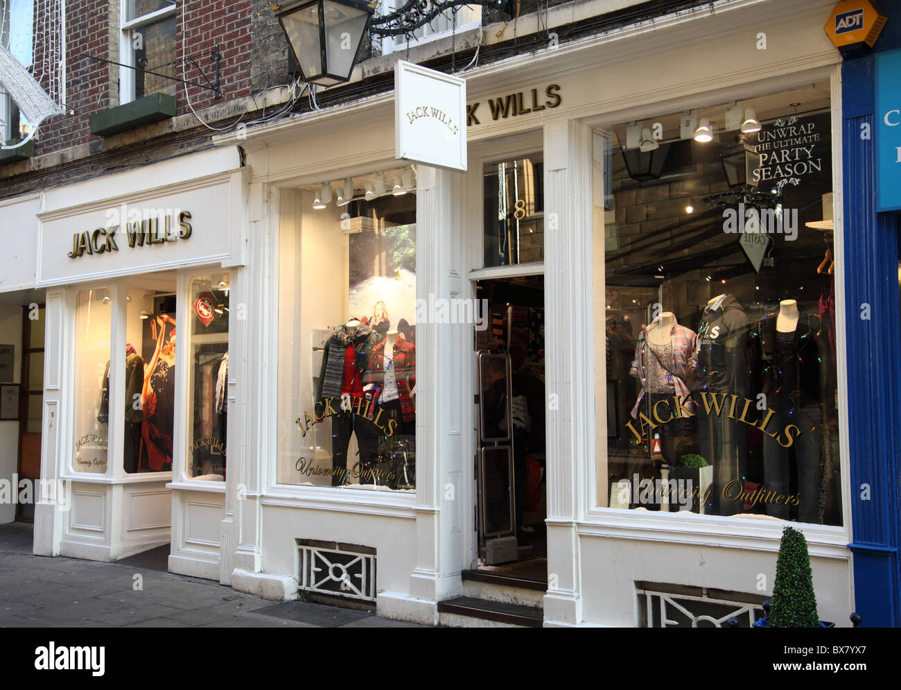 A Jack Wills store in Cambridge, England, U.K. - Stock Image