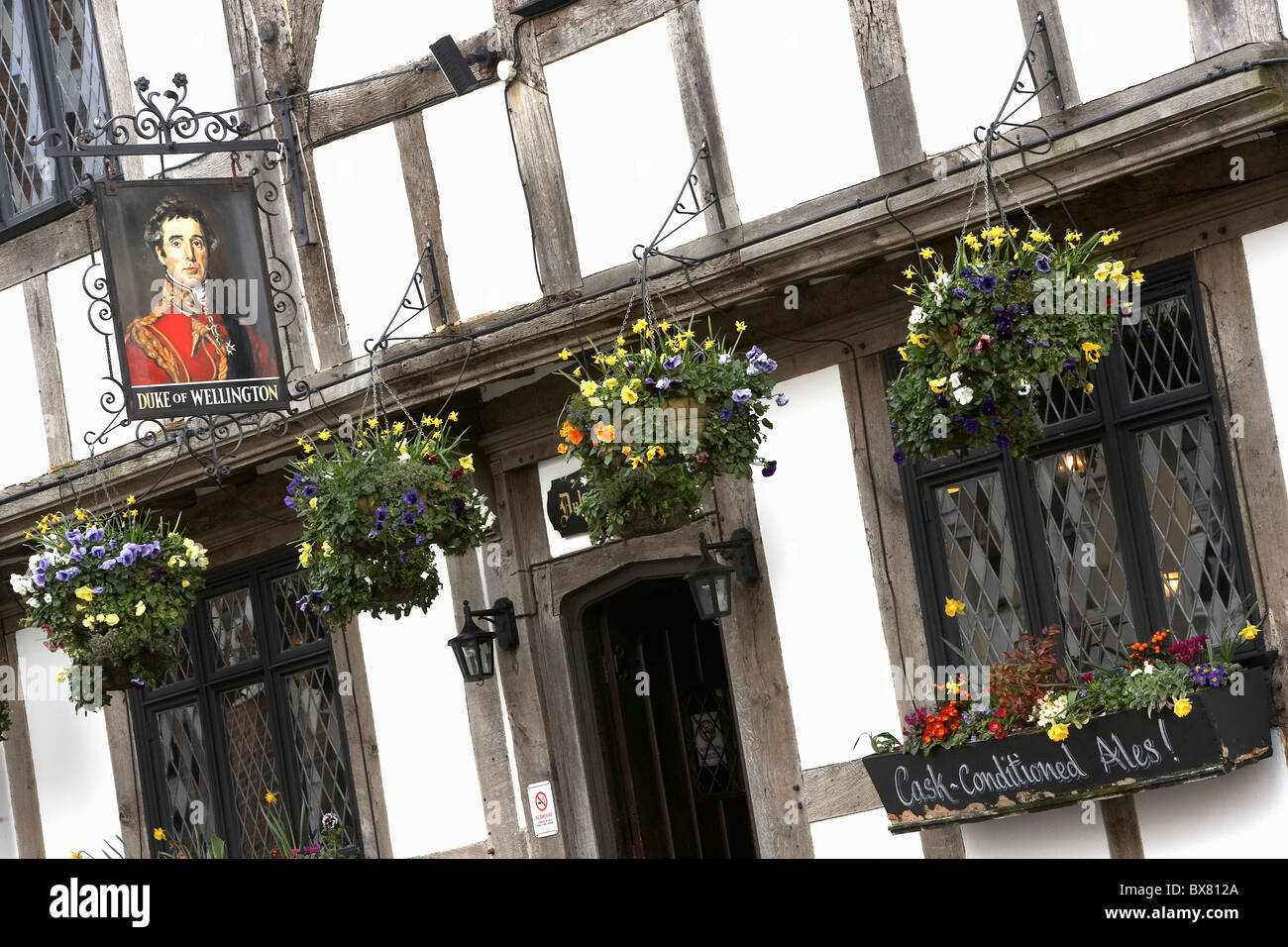 Duke of Wellington public house Southampton UK - Stock Image