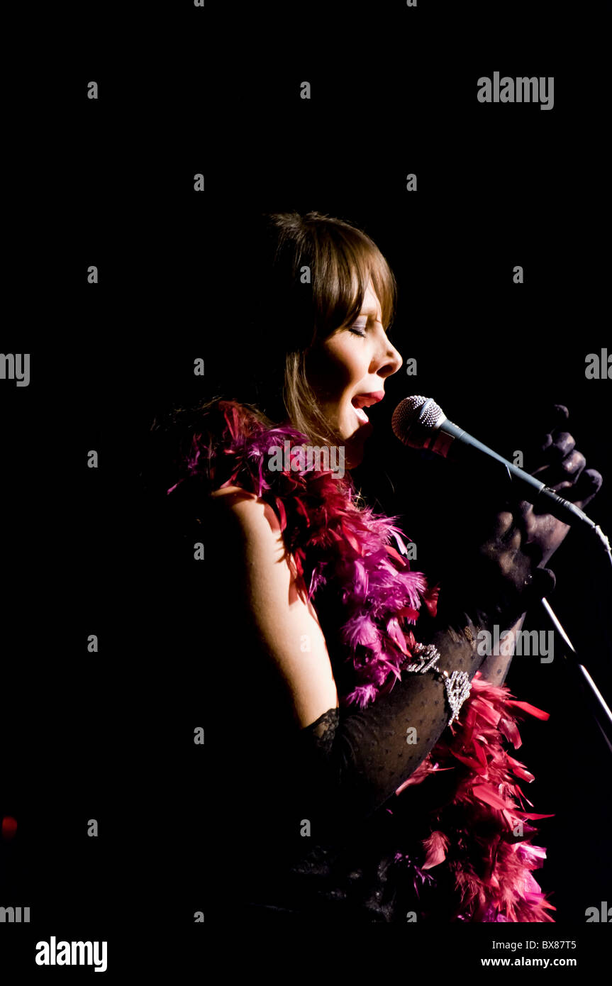 The Lady Sings Jazz - Stock Image