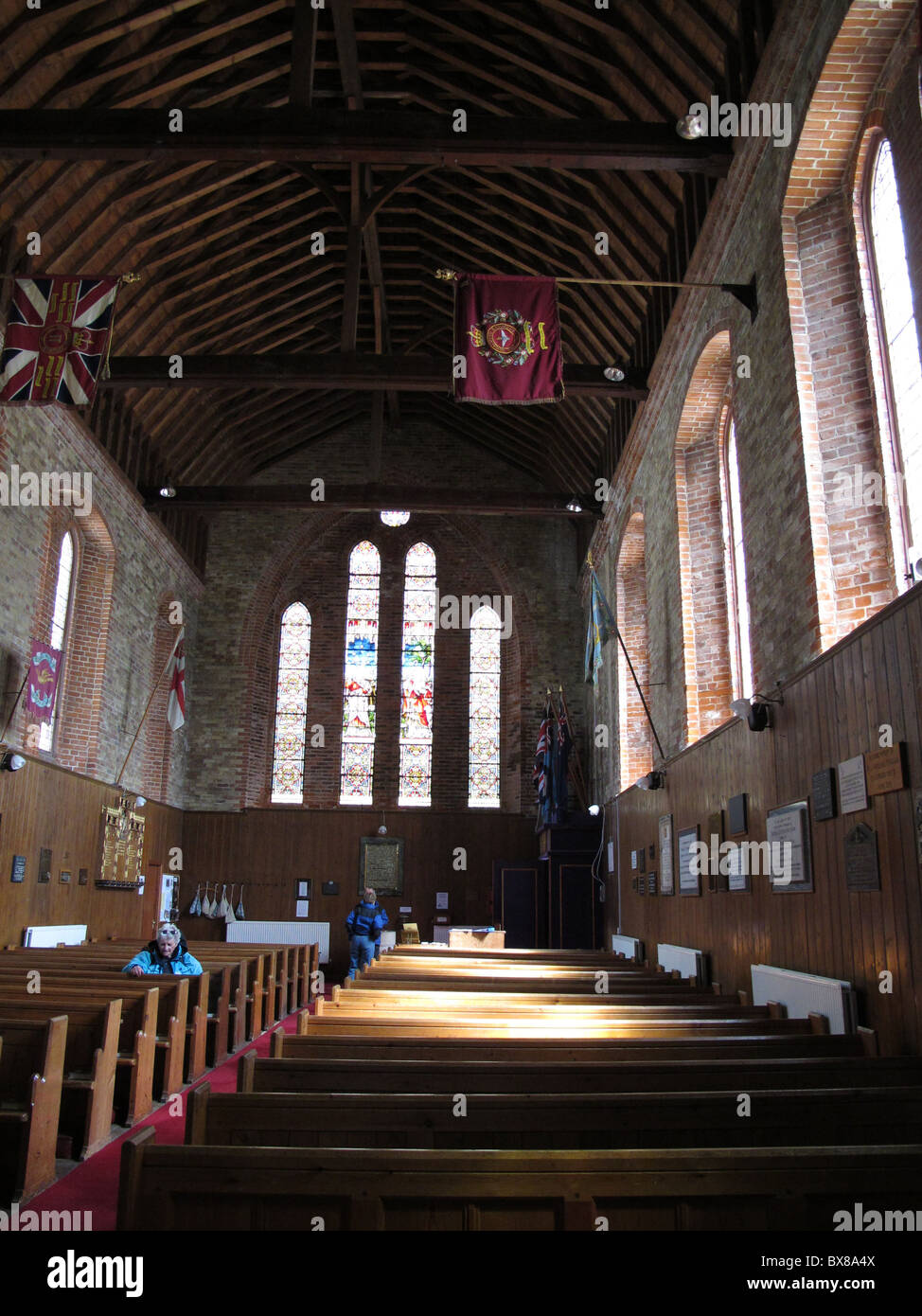 Inside Christ Church Cathedral, Port Stanley, Falkland islands - Stock Image