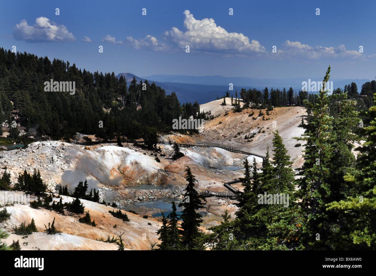 Lassen Volcanic  National Park, California USA - Stock Image