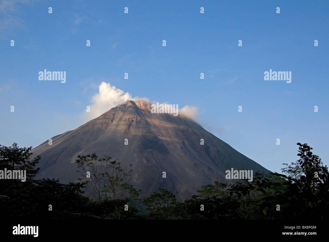 Arenal Volcano near La Fortuna, San Carlos, Costa Rica. - Stock Image
