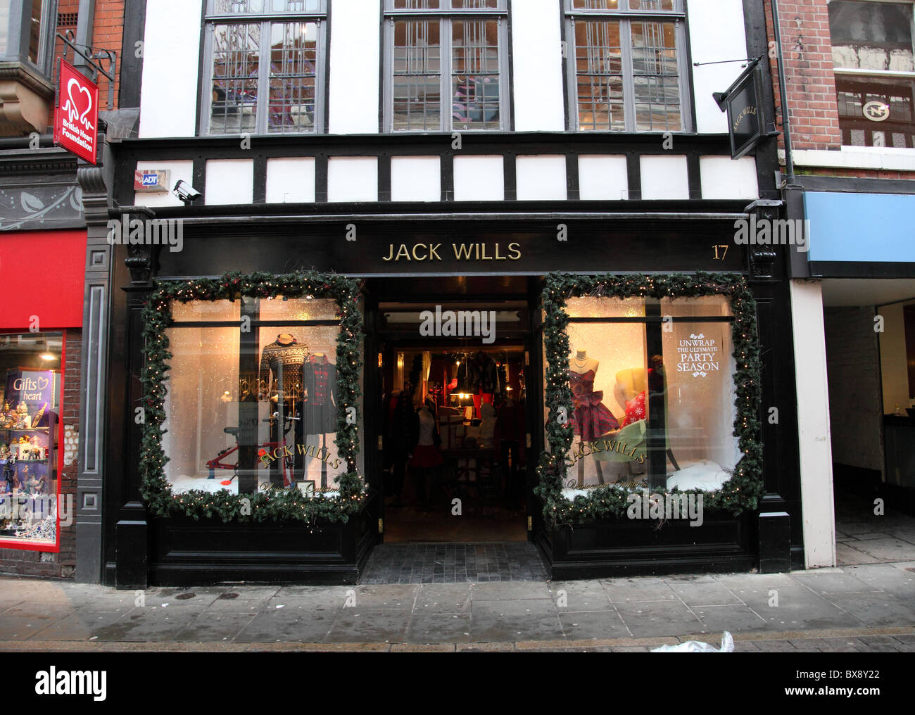 A Jack Wills Store in Nottingham, England, U.K. - Stock Image