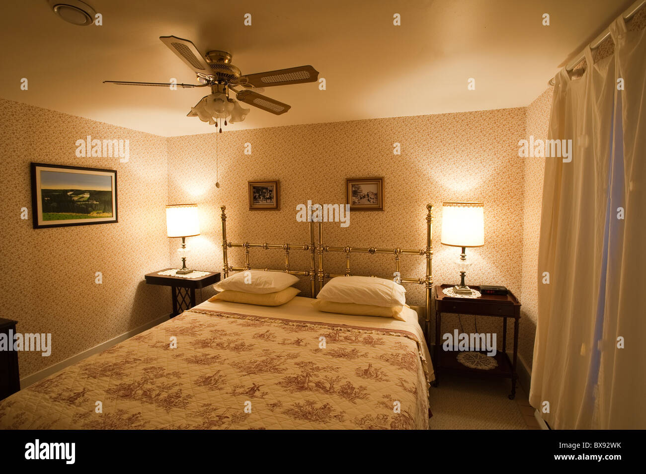 Victoria, Prince Edward Island. Orient Hotel. - Stock Image