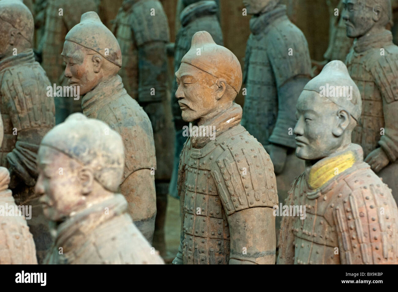 Terracotta Warriors Army, Xi'an, China - Stock Image