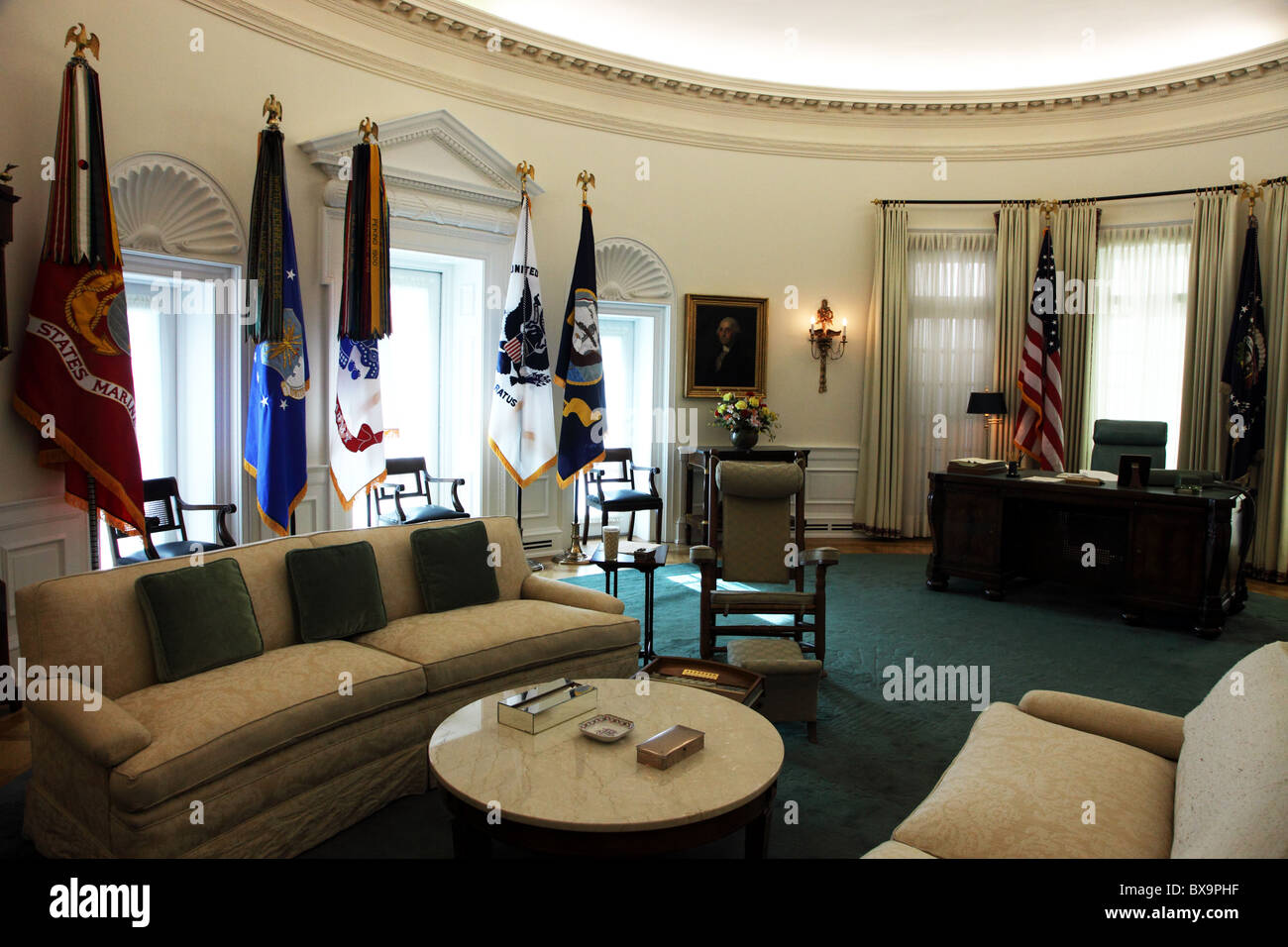 lbjs office president. LBJ Oval Office Replica, Library \u0026 Museum, Austin, Texas, USA Lbjs President T