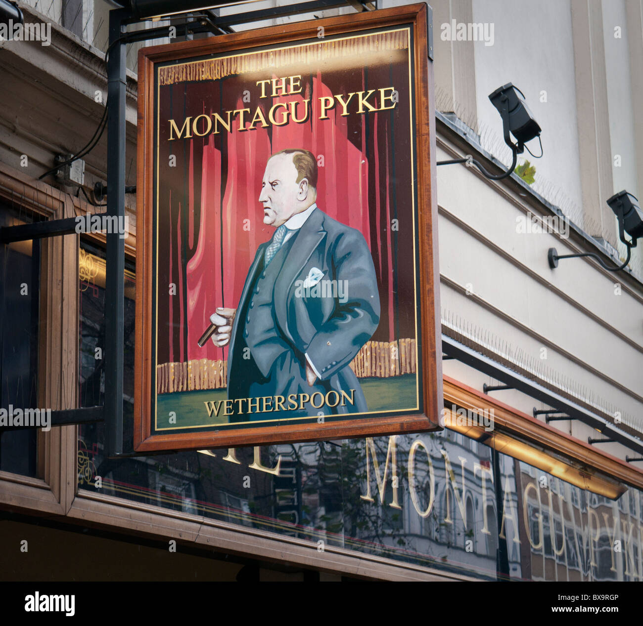 The Montagu Pyke Wetherspoon pub on Charing Cross Road formerly known as the Marquee club in London Britain - Stock Image