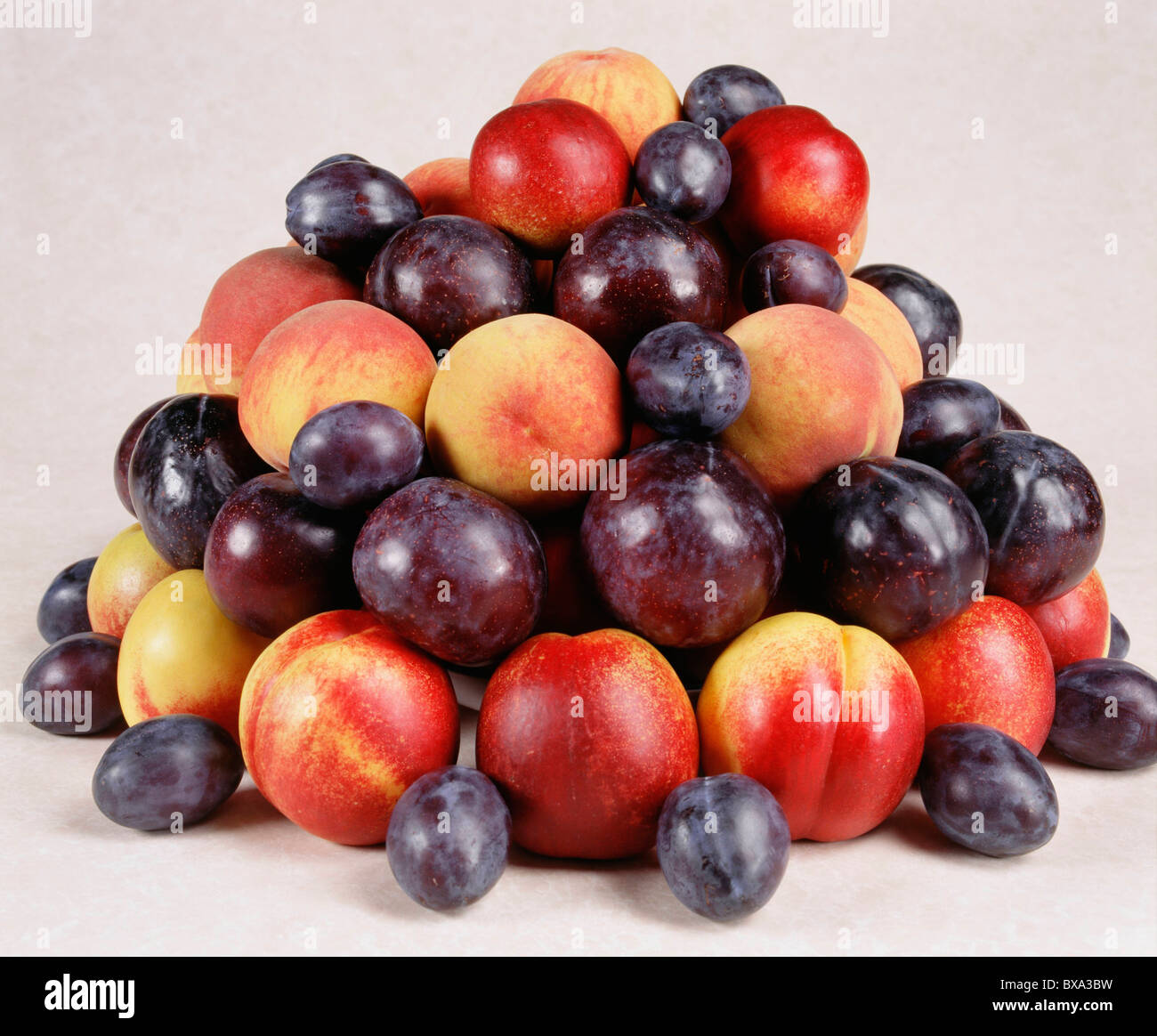 stone fruits peaches plums prunes dried apricots prune plums stock photo 33413629 alamy. Black Bedroom Furniture Sets. Home Design Ideas