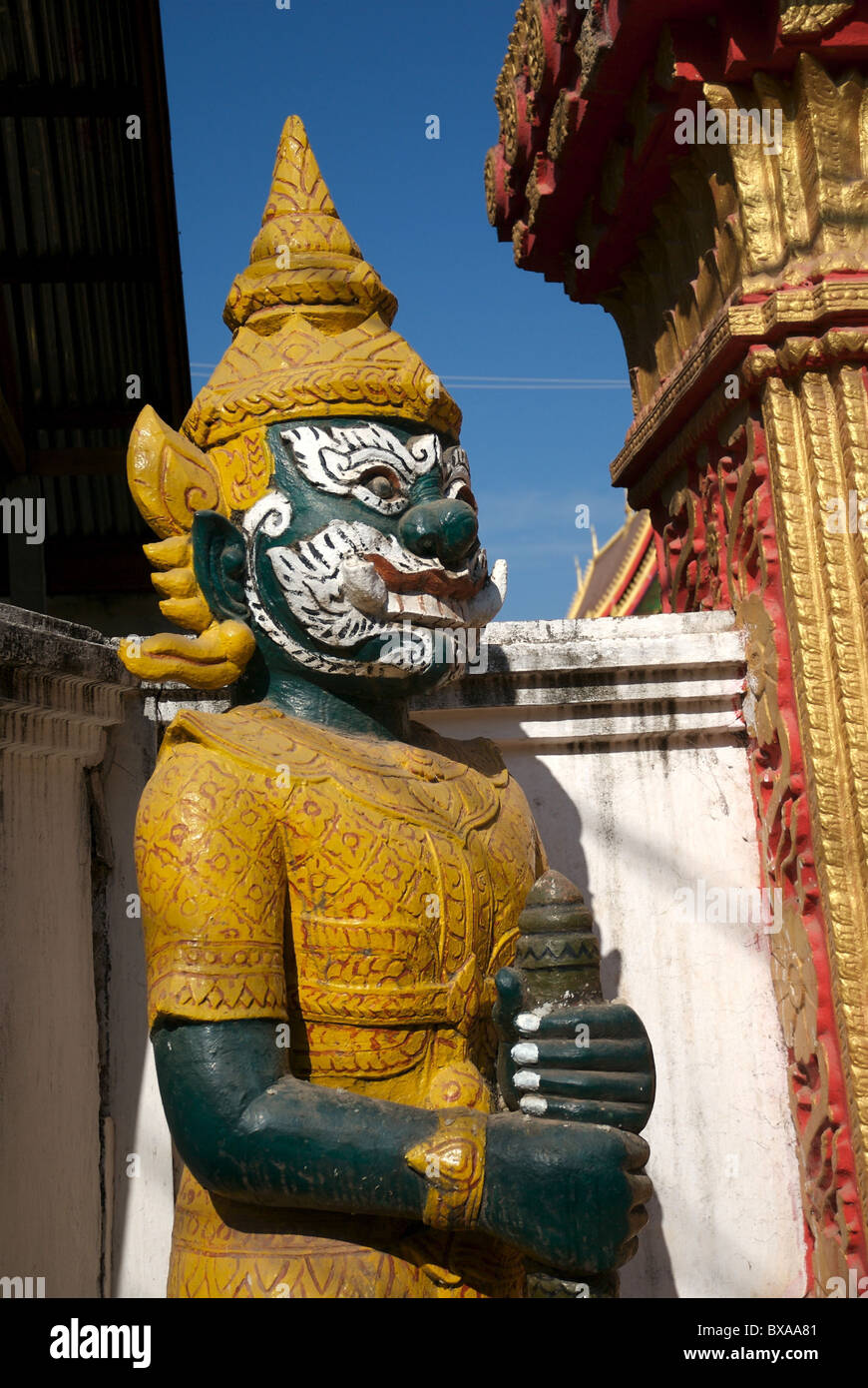 At every Buddhist temple there are temples to guard devaluation of