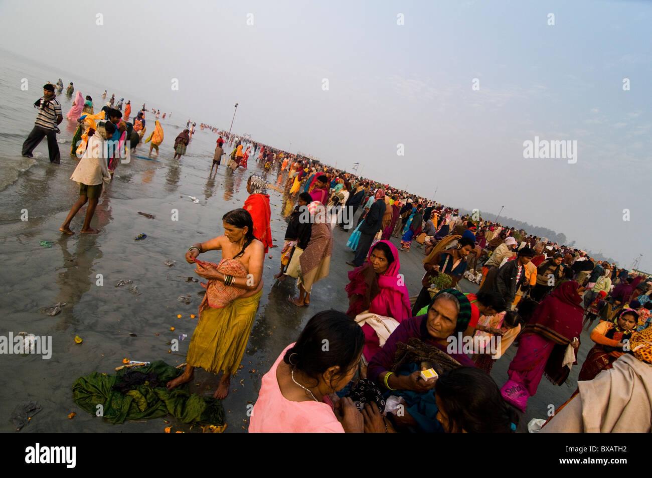 Ganga Sagar Festival in India 11