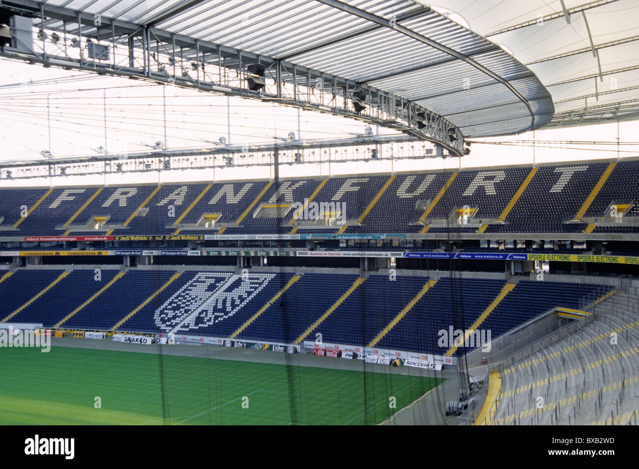 Football Stadium Of The Commerzbank Arena Frankfurt Am
