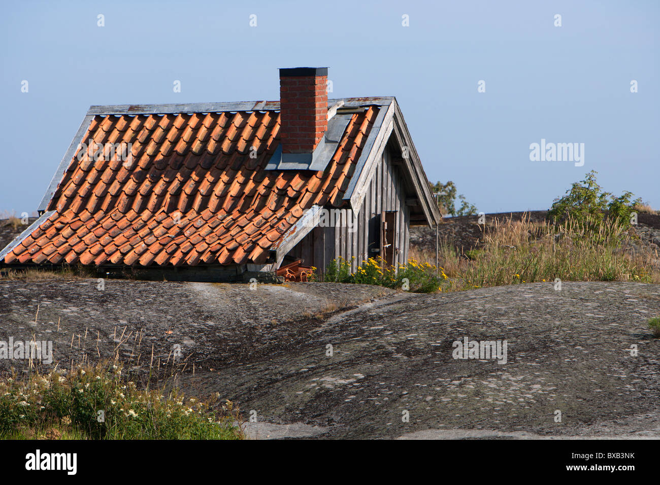 Small cottage house - Stock Image
