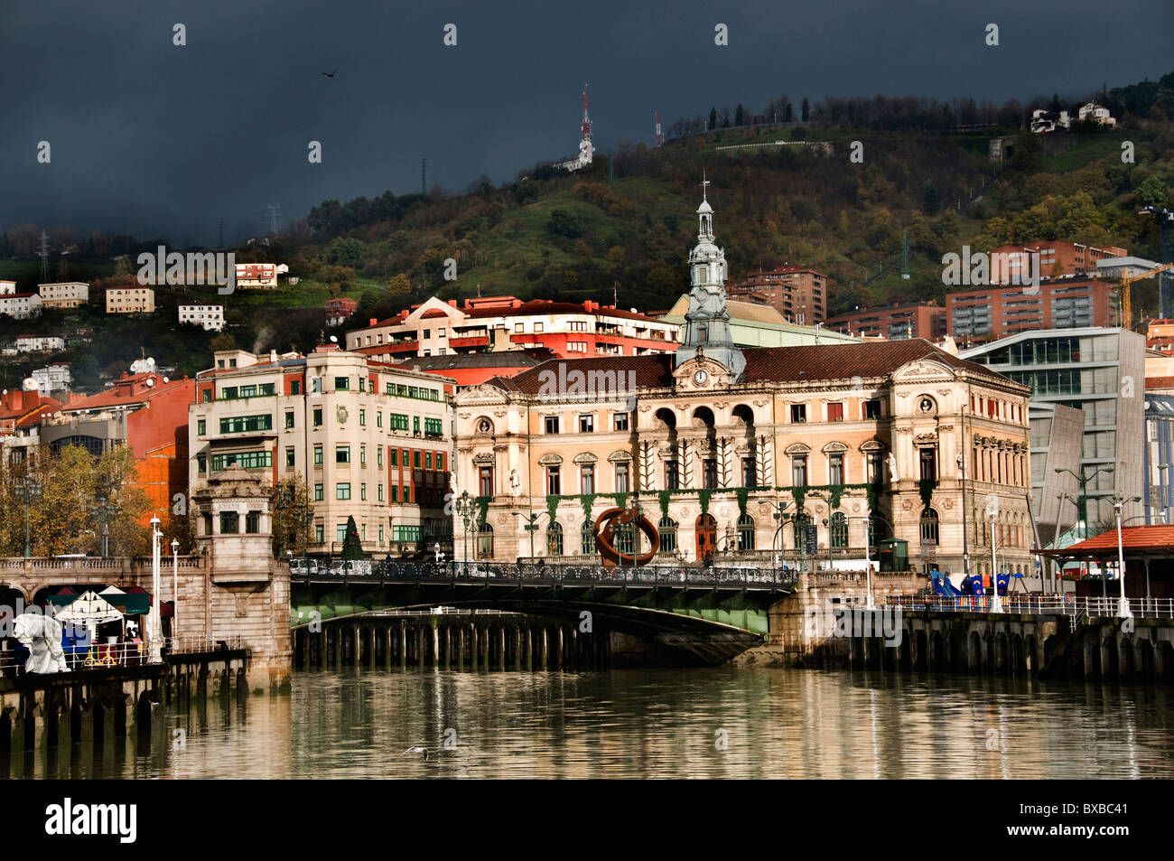 Bilbao Spain Spanish Basque Country - Stock Image