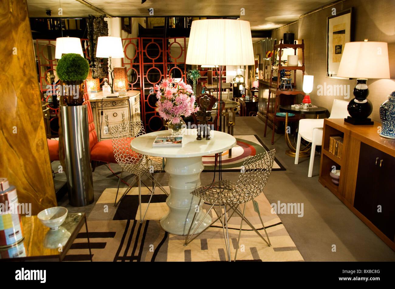 Bilbao  Spain Spanish Store home shop furniture retail - Stock Image