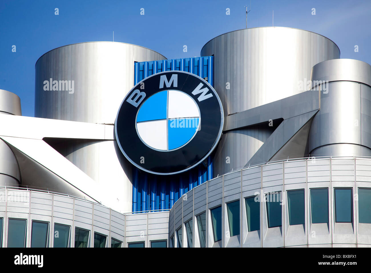 Headquarters of BMW AG, Munich, Bavaria, Germany, Europe Stock Photo