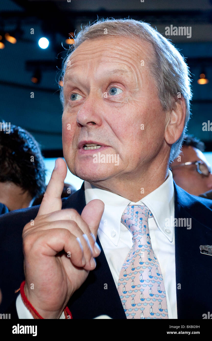 Wolfgang Porsche, chairman of the supervisory board of Porsche Automobil Holding SE, during the Group Night of the - Stock Image