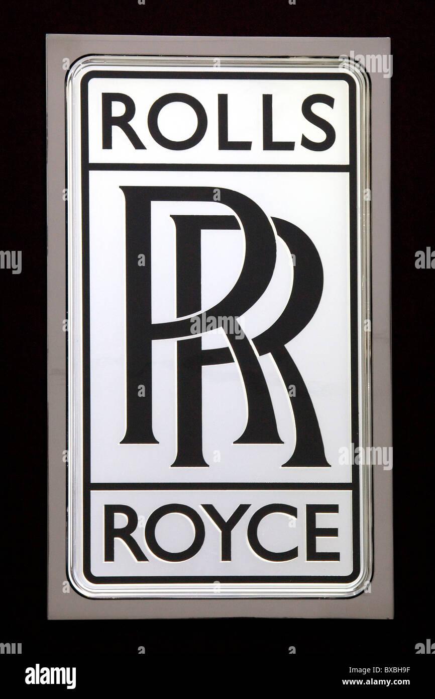 Rolls Royce Logo Stock Photos Amp Rolls Royce Logo Stock