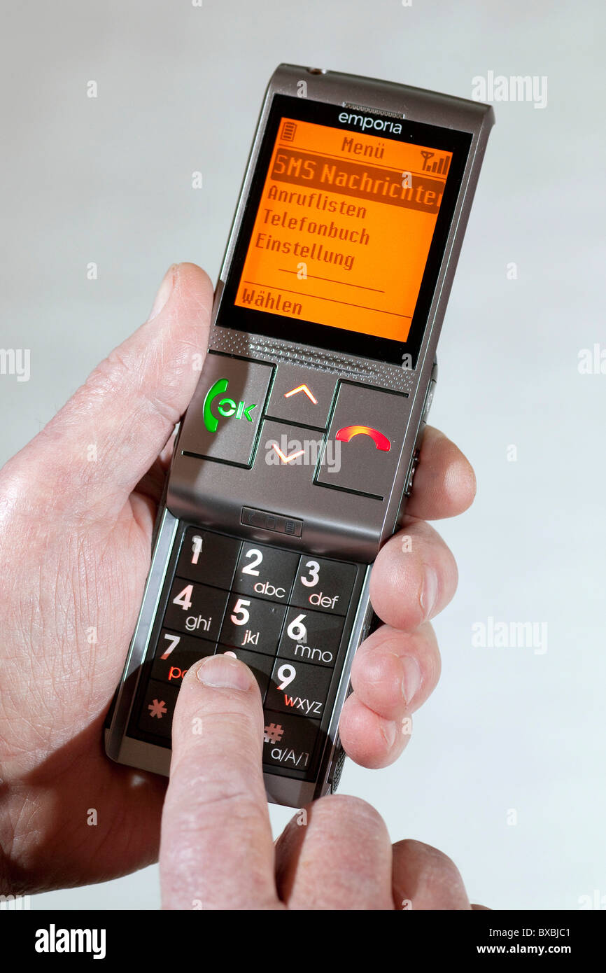 Mobile Phone For Old People Emporia Life Plus With Big Buttons And