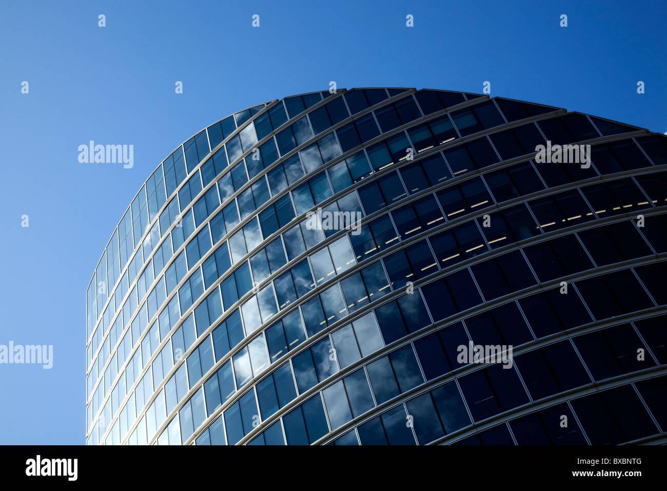 Modern architecture in London, England, United Kingdom, Europe Stock Photo