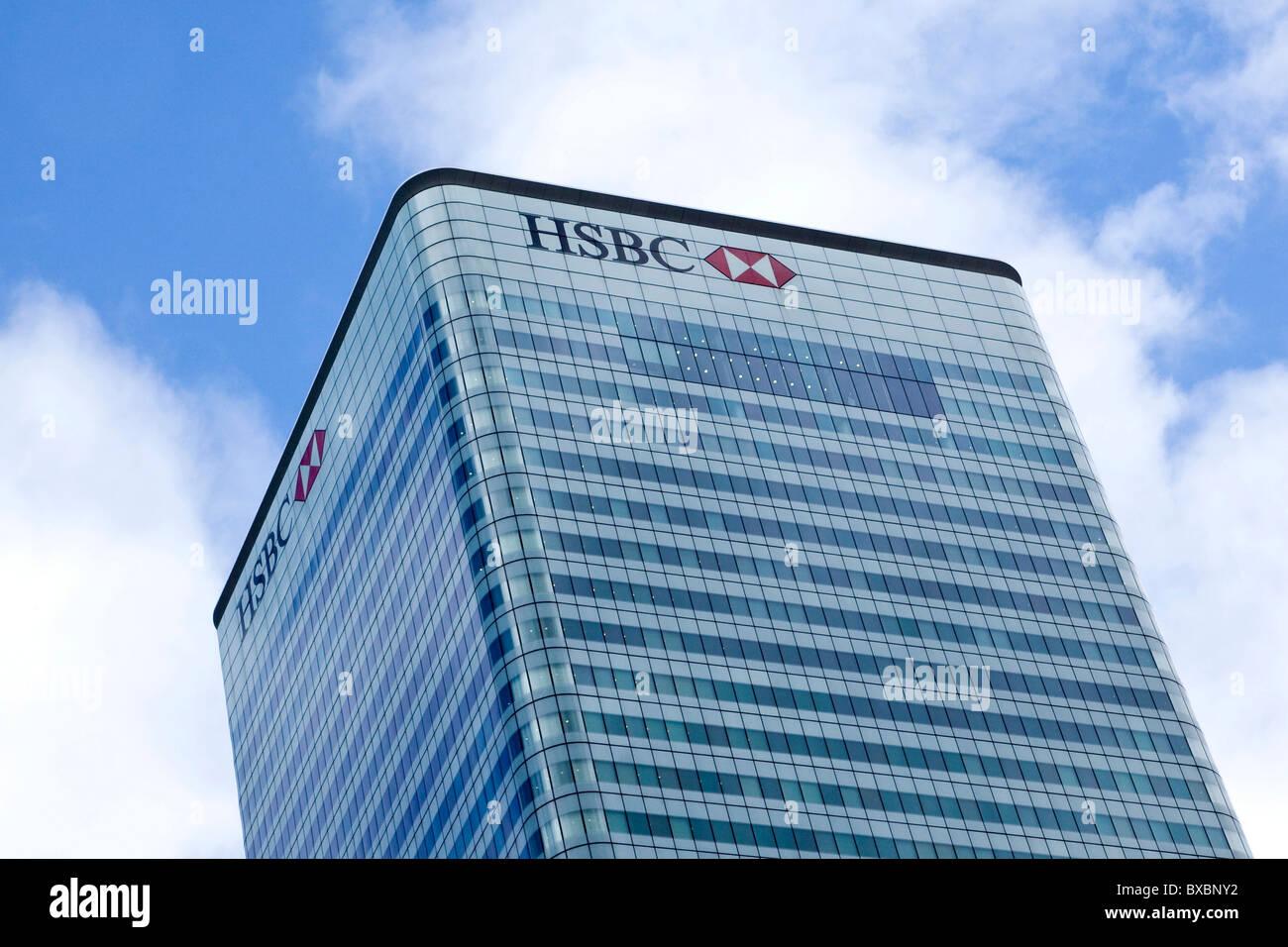 Hsbc London Headquarters Stock Photos & Hsbc London