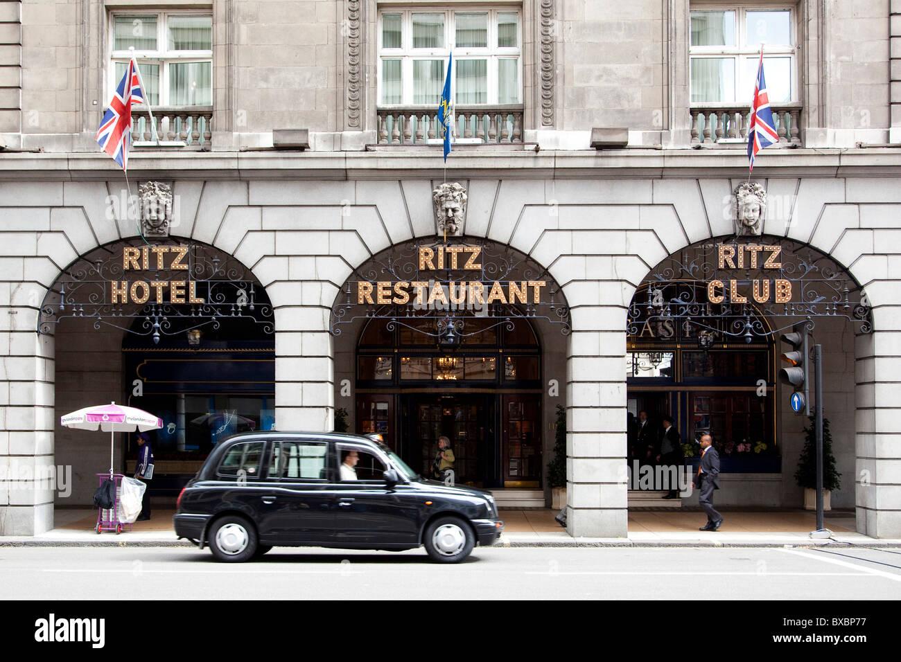 The Ritz Hotel in London, England, United Kingdom, Europe - Stock Image