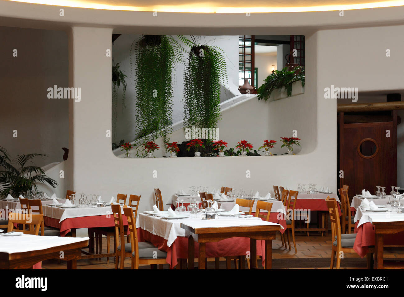 Restaurant Campesino in Monumento al Campesino, Lanzarote, Canary Islands, Spain, Europe - Stock Image