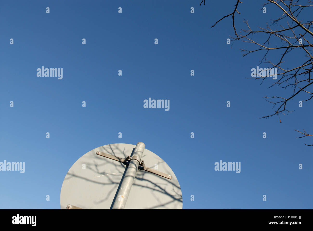 SIGN ABSTRACT - Stock Image