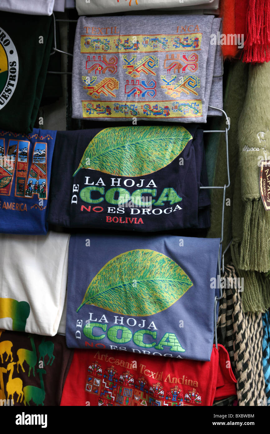 The Coca Leaf Isnt A Drug T Shirts For Sale Outside Shop In Stock