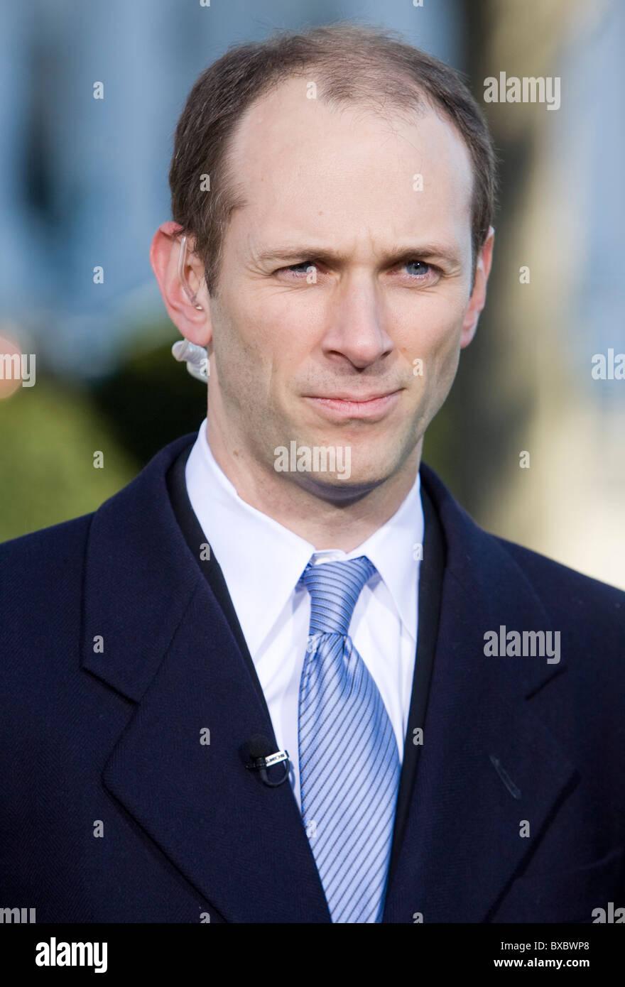 Austan Goolsbee, Chairman of the Council of Economic Advisers. - Stock Image